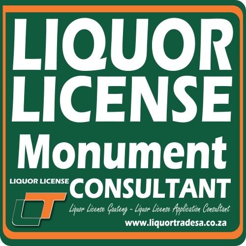 Liquor License Monument